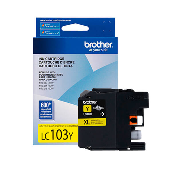 Tinta Brother LC-103Y Yellow