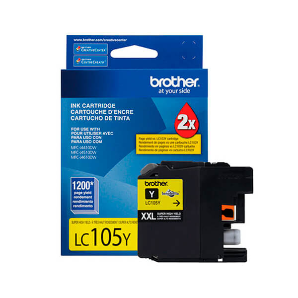 Tinta Brother LC-105Y Yellow